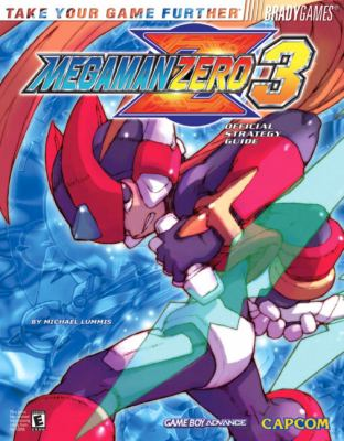 Mega Mana Zero 3 Official Strategy Guide 9780744004229