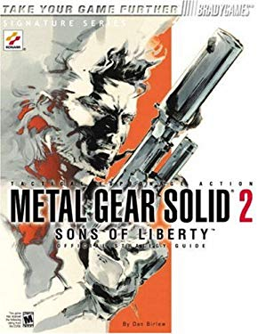 Metal Gear Solid 2: Sons of Liberty Official Strategy Guide [With Poster] 9780744001099