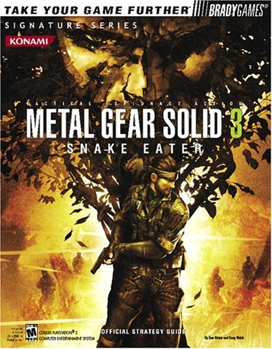 Metal Gear Solid 3a: Snake Eater Official Strategy Guide 9780744004779