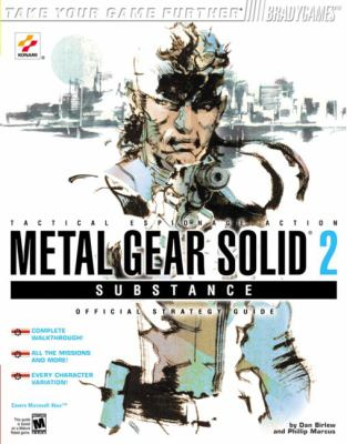 Metal Gear Solida 2: Substance Official Strategy Guide for Xbox 9780744002263