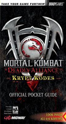 Mortal Kombata: Deadly Alliance Official Krypt Kodes 9780744002546