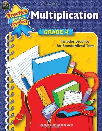 Multiplication Grade 4 9780743933223
