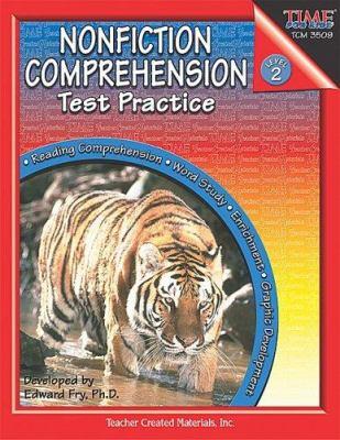 Nonfiction Comprehension Test Practice: Level 2 9780743935098