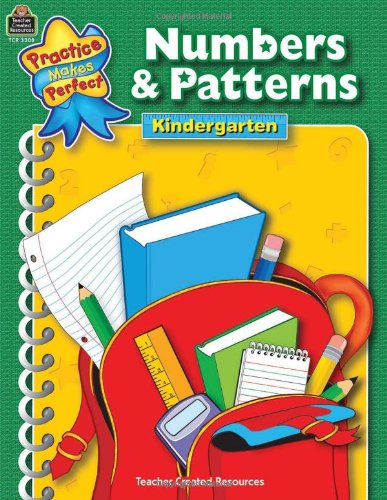 Numbers & Patterns Grade K 9780743933087