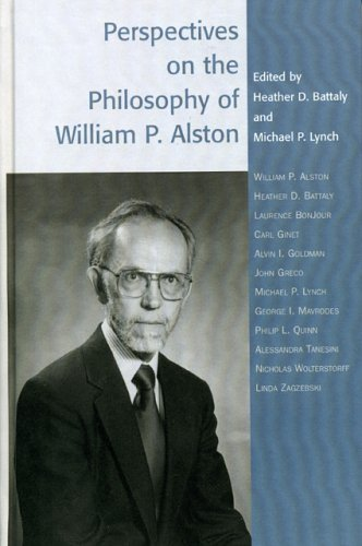 Perspectives on the Philosophy of William P. Alston 9780742514249