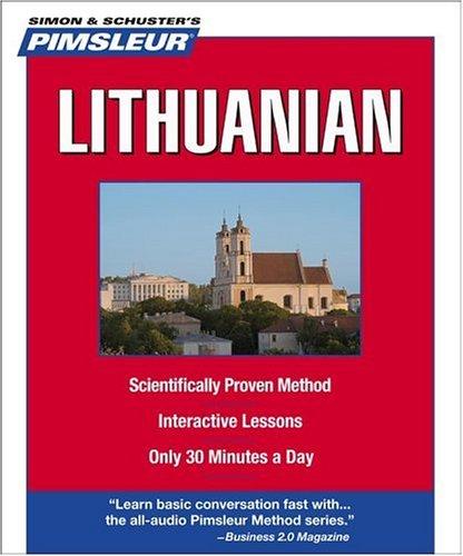 Pimsleur Lithuanian 9780743550642