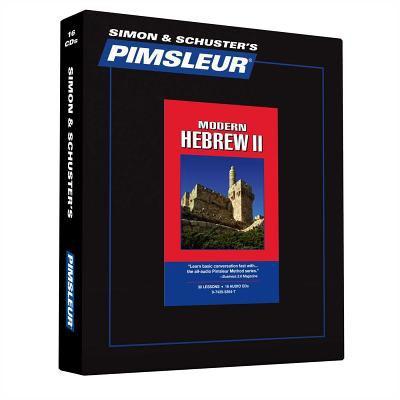 Pimsleur Modern Hebrew II 9780743552547