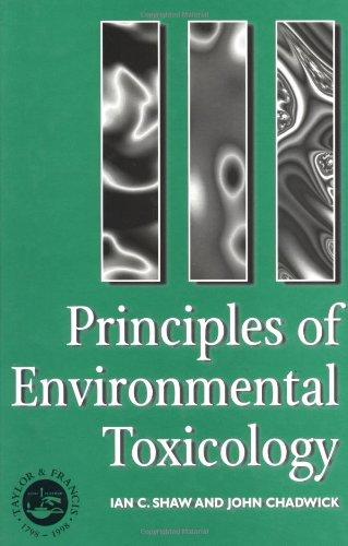 Principles of Environmental Toxicology 9780748403554