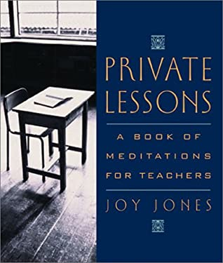 Private Lessons: A Book of Meditations for Teachers 9780740718755