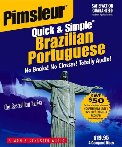 Portuguese (Brazilian), Q&s: Learn to Speak and Understand Brazilian Portuguese with Pimsleur Language Programs 9780743517690