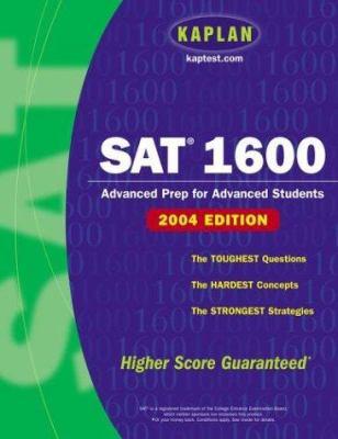 SAT 1600 9780743251983