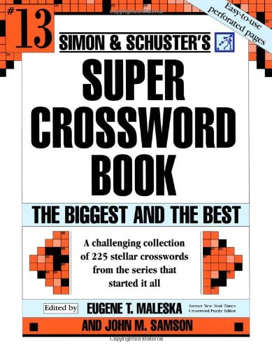 Simon & Schuster's Super Crossword Book Series 13 9780743293211