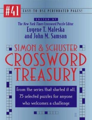Simon and Schuster's Crossword Treasury #41