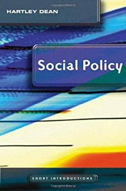 Social Policy 9780745634340