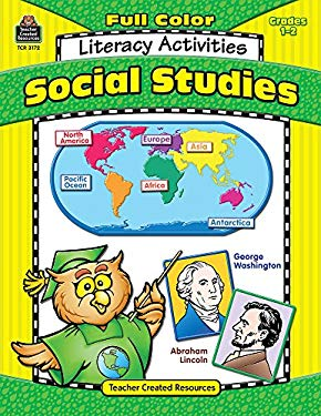 Social Studies Literacy Activities Grades 1-2 9780743931724
