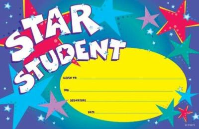 Star Student Pat-On-The-Back Award 9780742403529