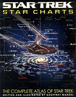 Star Trek Star Charts [With Fold-Out Charts] 9780743437707