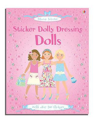 Sticker Dolly Dressing: Dolls 9780746075487