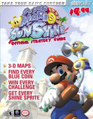Super Mario Sunshine Official Strategy Guide 9780744001808