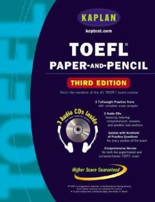 TOEFL Paper-And-Pencil [With Three CDs] 9780743241373