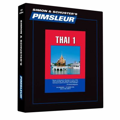 Thai, Comprehensive: Learn to Speak and Understand Thai with Pimsleur Language Programs 9780743544924