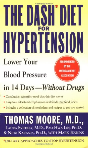 The Dash Diet for Hypertension 9780743410076