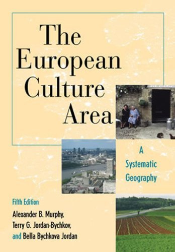 The European Culture Area: A Systematic Geography 9780742556720