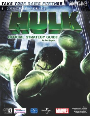 The Hulk Official Strategy Guide 9780744002799