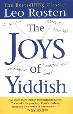 The Joys of Yiddish 9780743406512