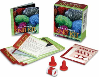 The Little Knit Kit [With Four Project Cards and Two Needle Point Protectors & One Row Counter and Instruction Booklet