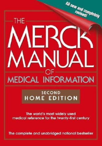 The Merck Manual of Medical Information 9780743477338