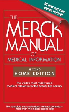 The Merck Manual of Medical Information 9780743477345