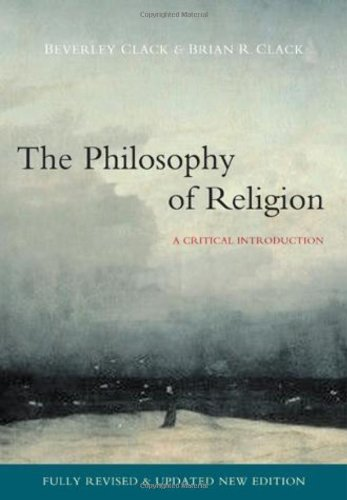 The Philosophy of Religion: A Critical Introduction 9780745638683