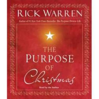 The Purpose of Christmas 9780743581783