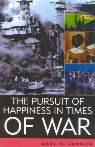 The Pursuit of Happiness in Times of War 9780742525917