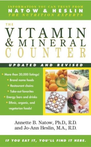 The Vitamin and Mineral Food Counter 9780743463775