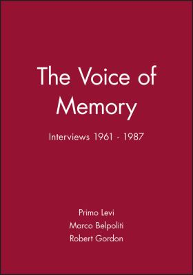 The Voice of Memory: Interviews 1961 - 1987 9780745621494