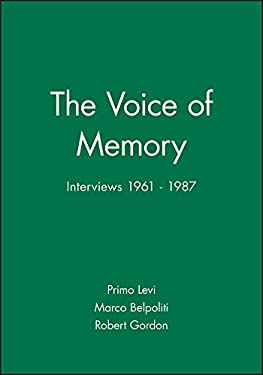 The Voice of Memory: Interviews 1961 - 1987 9780745621500