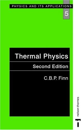 Thermal Physics 9780748743797