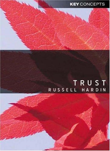 Trust 9780745624655
