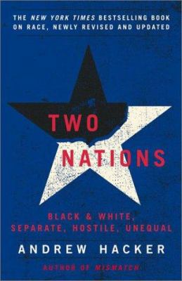 Two Nations: Black and White, Separate, Hostile, Unequal 9780743238243
