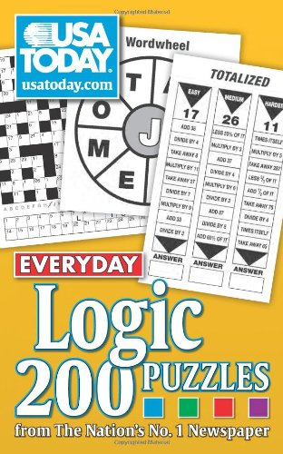 USA Today Everyday Logic: 200 Puzzles from the Nation's No. 1 Newspaper 9780740773563