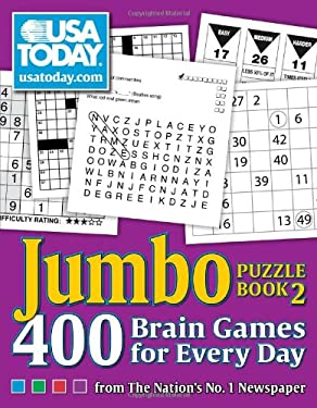 USA Today Jumbo Puzzle Book 2: 400 Brain Games for Every Day from the Nation's No. 1 Newspaper 9780740785399