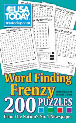 USA Today Word Finding Frenzy: 200 Puzzles 9780740797491