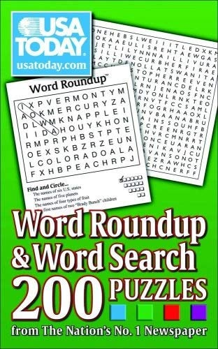 USA Today Word Roundup & Word Search: 200 Puzzles from the Nations No. 1 Newspaper