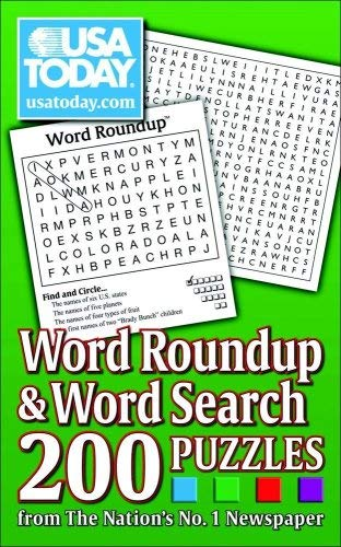 USA Today Word Roundup & Word Search: 200 Puzzles from the Nations No. 1 Newspaper 9780740770340