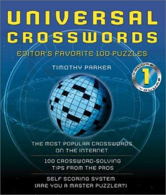 Universal Crosswords Volume 1: ! Editors' Favorite Puzzles 9780740725524
