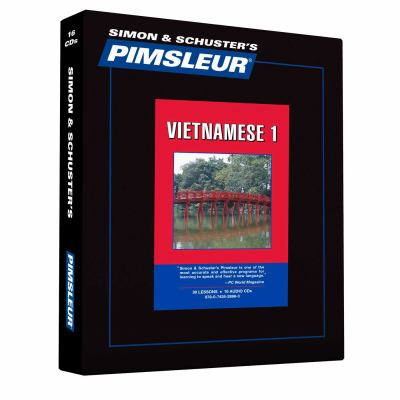 Vietnamese, Comprehensive: Learn to Speak and Understand Vietnamese with Pimsleur Language Programs 9780743528993