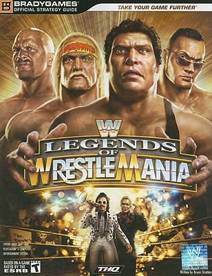 WWE Legends of Wrestlemania 9780744010893