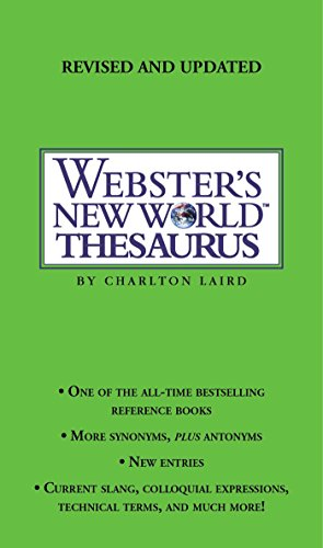 Webster's New World Thesaurus 9780743470711